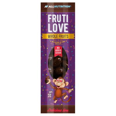 ALLNUTRITION FRUTILOVE WHOLE FRUITS - BIG RAISINS IN DARK CHOCOLATE
