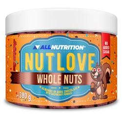 NUTLOVE WHOLENUTS - ALMONDS IN DARK CHOCOLATE WITH RASPBERRY