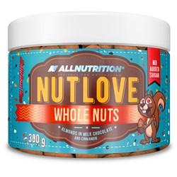 NUTLOVE WHOLENUTS - ALMONDS IN MILK CHOCOLATE AND CINNAMON