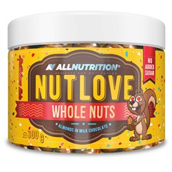 NUTLOVE WHOLENUTS - ALMONDS IN MILK CHOCOLATE