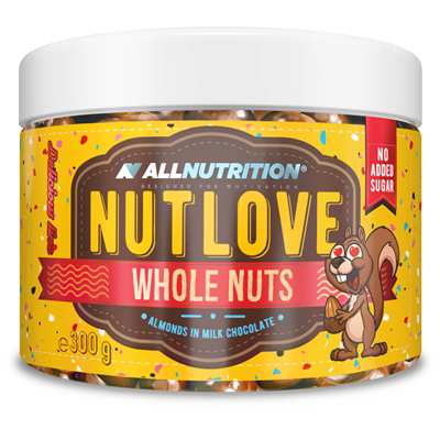 ALLNUTRITION NUTLOVE WHOLENUTS - ALMONDS IN MILK CHOCOLATE