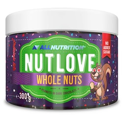 NUTLOVE WHOLENUTS - PEANUTS IN DARK CHOCOLATE