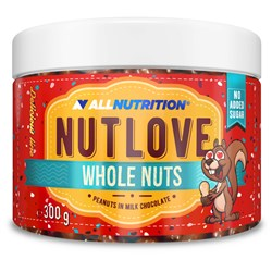 NUTLOVE WHOLENUTS - PEANUTS IN MILK CHOCOLATE