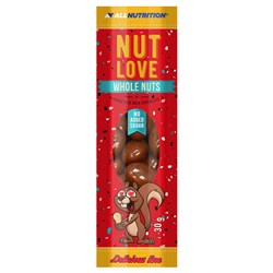 NUTLOVE WHOLE NUTS - PEANUTS IN MILK CHOCOLATE