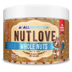 Nutlove Wholenut - Almonds In White Chocolate And Cinnamon
