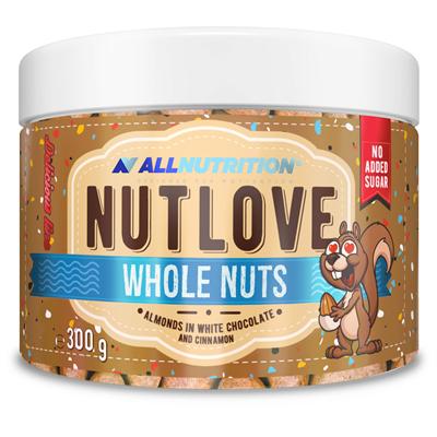 ALLNUTRITION Nutlove Wholenut - Almonds In White Chocolate And Cinnamon